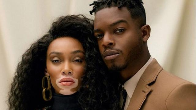 Winnie Harlow & Stephan James grace the cover of ELLE Canada