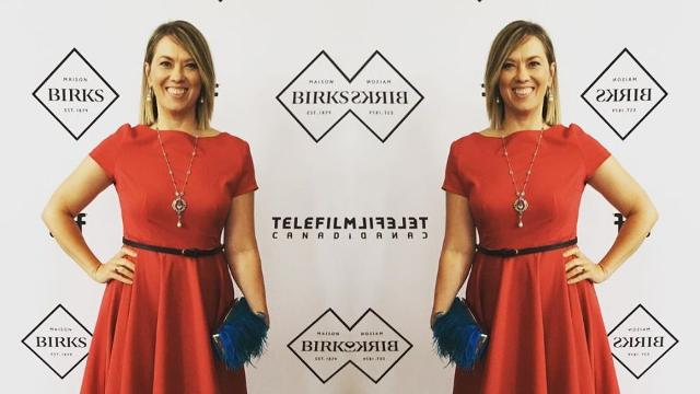 This actress wore the same dress 12 different times at TIFF